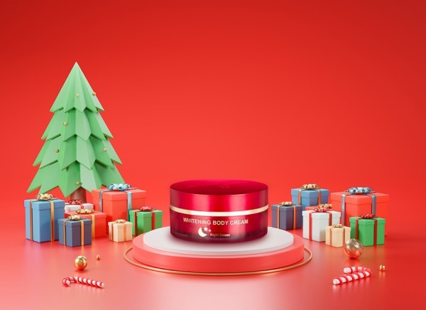 Christmas concept for 3N cosmetics